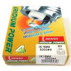 Свеча зажигания иридиевая DENSO Iridium Power / I03 / IK16 / 5303
