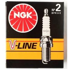 Свеча зажигания NGK V-Line 02 / BPR6E / 2268